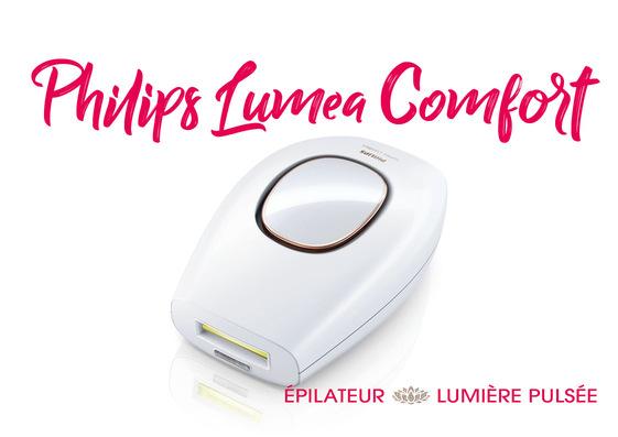 test Philips Lumea Comfort épilateur lumière pulsée
