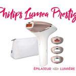 test philips lumea prestige BRI956