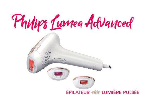 Philips Lumea Advanced   Epilateur Lumière Pulsée   Test - Avis ... cac2eecb55ff